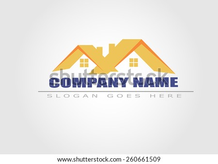 House vector . Real estate logo - stock vector
