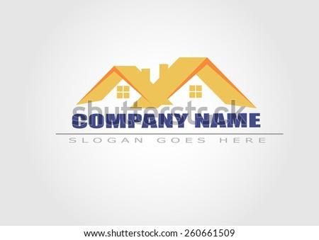 House vector . Real estate logo - stock vector