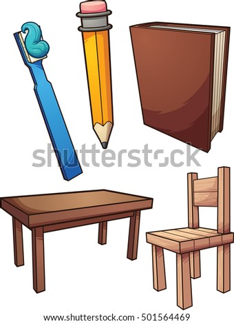 Table Cartoon Stock Images RoyaltyFree Images Vectors - Table and chairs clipart