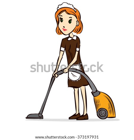 Housemaid Stock Photos Royalty Free Images Amp Vectors Shutterstock