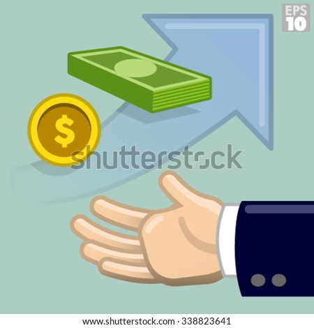 How much loan money is needed for business growth - stock vector