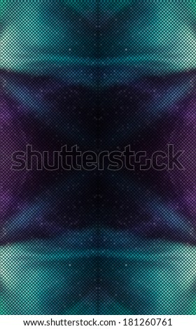 Huge multicolor abstract lights disco background square pixel mosaic vector eps 10 - stock vector