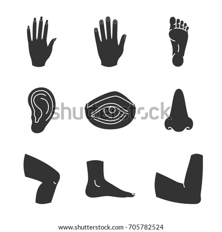 Hand With Eye Symbol Silhouette Wiring Diagrams