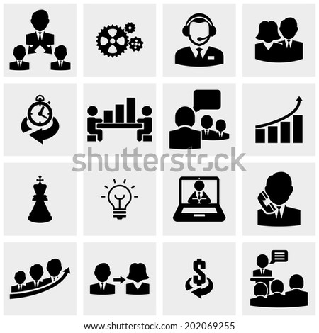 Human resources and management  - stock vector