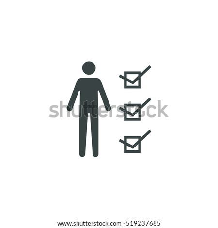 Human resources icon simple vector illustration