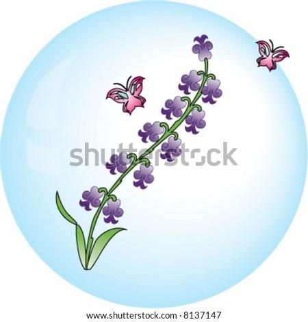 Hyacinth vector flower - stock vector