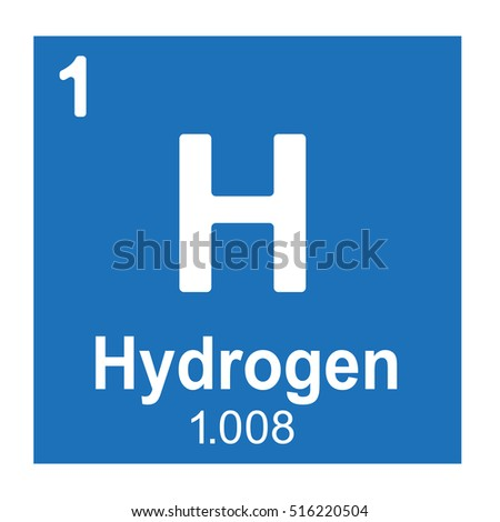 Hydrogen element vector icon periodic table stock photo photo hydrogen element vector icon periodic table element urtaz Gallery
