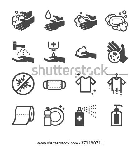 Hygiene Icon  - stock vector