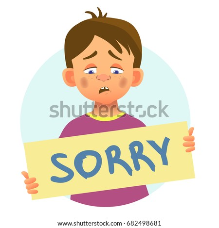 I Am Sorry Stock Images, Royalty-Free Images & Vectors ...