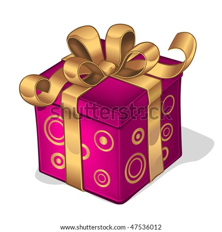 I have a present for you! - stock vector