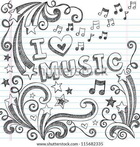 cute music designs to draw on paper wwwimgarcadecom