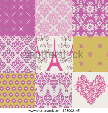 I Love Paris - stock vector