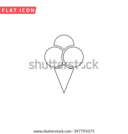 Ice cream Icon Vector. Ice cream Icon JPEG. Ice cream Icon Picture. Ice cream Icon Image. Ice cream Icon Graphic. Ice cream Icon JPG. Ice cream Icon EPS. Ice cream Icon AI. Ice cream Icon Drawing - stock vector