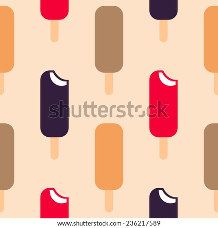 ice cream pattern seamless
