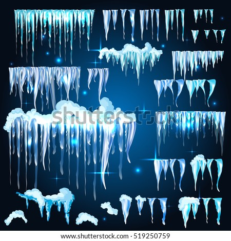 Icicles Vector Stock Images, Royalty-Free Images & Vectors ...