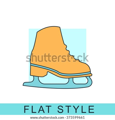Ice skate Icon Vector. Ice skate Icon JPEG. Ice skate Icon Object. Ice skate Icon Picture. Ice skate Icon Image. Ice skate Icon Graphic. Ice skate Icon Art. Ice skate Icon JPG. Ice skate Icon EPS. - stock vector