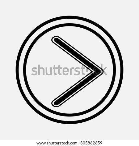 icon arrow returning back piktorgama, mobile, fully editable vector image - stock vector