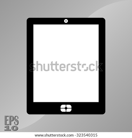 icon computer, laptop, icon for web sites, fully editable vector image