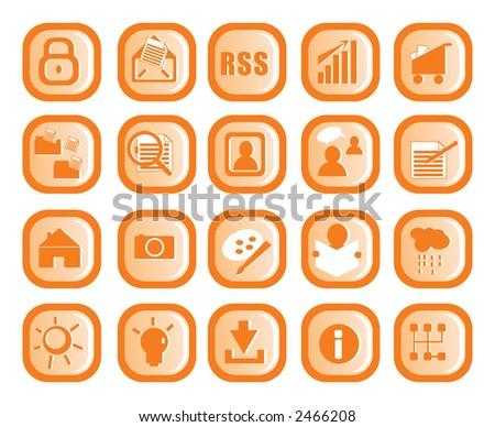 Icon design - stock vector