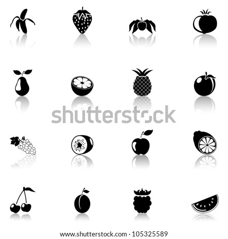 Icon Fruits black