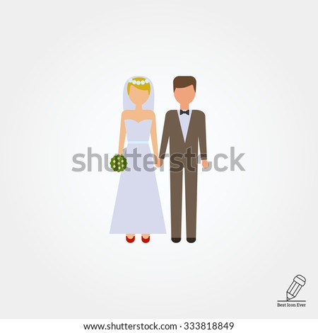 Icon of bride and bridegroom