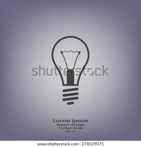 icon of lamp