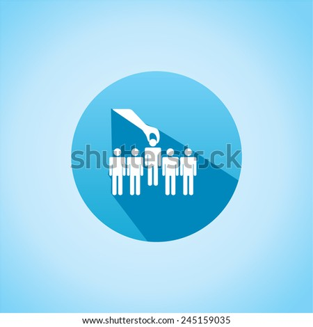 Icon of select - stock vector