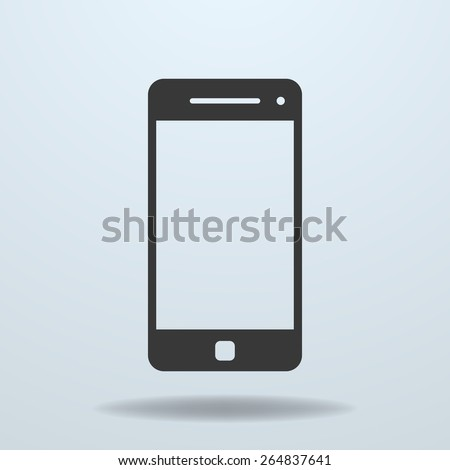 Icon of Smartphone, mobile phone - stock vector