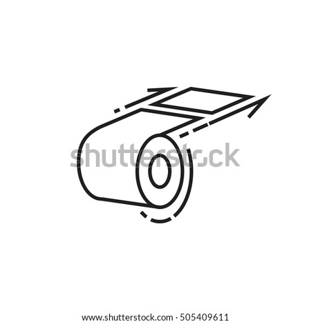 Vector Drawing Vintage Eyeglasses On White Stock Vector 236203423
