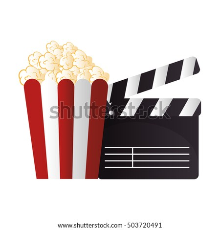 icon pop corn cinema design