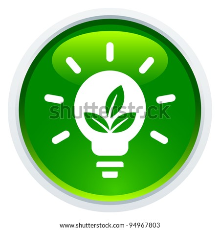 Icon Series - Green Energy - stock vector