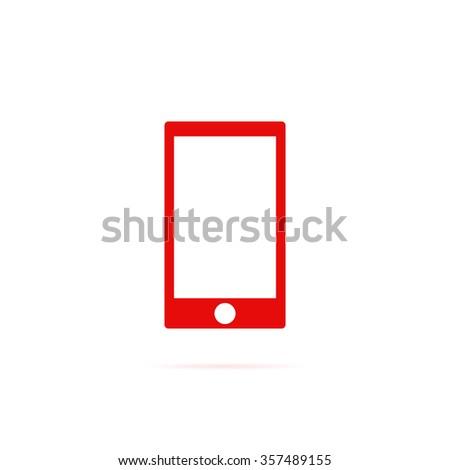 Icon smartphone. - stock vector