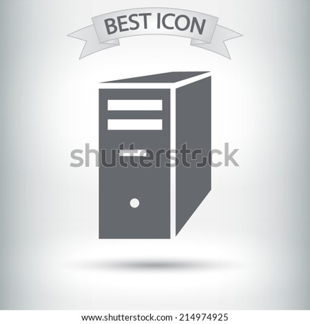 icon, vector illustration. Flat design style  - stock vector