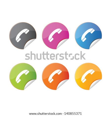 icon web set for use - stock vector
