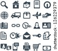 Icons for the web site or mobile app. File in EPS10 format, that can be scaled to any size without loss of quality. - stock vector