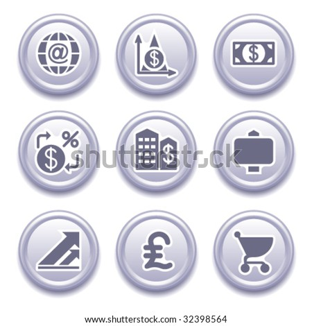 Icons for web 23 - stock vector