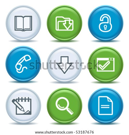Icons with color buttons 6