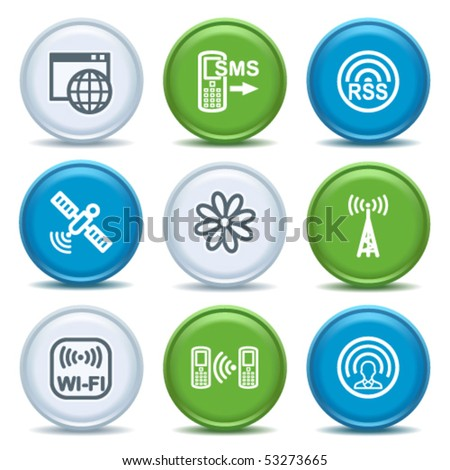 Icons with color buttons 30