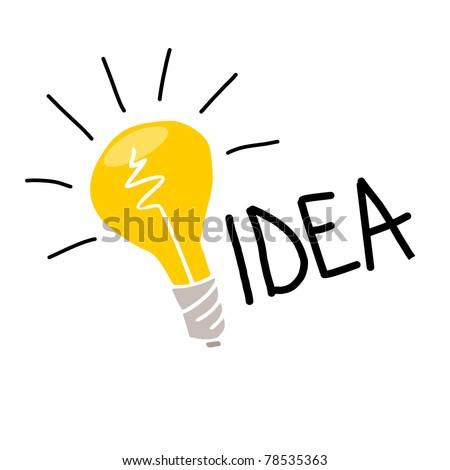 idea - stock vector
