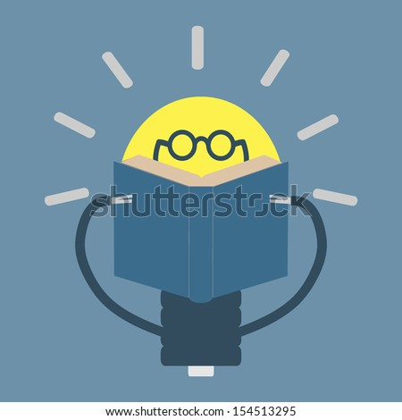 idea and education concept - stock vector