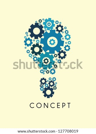 idea concept - stock vector