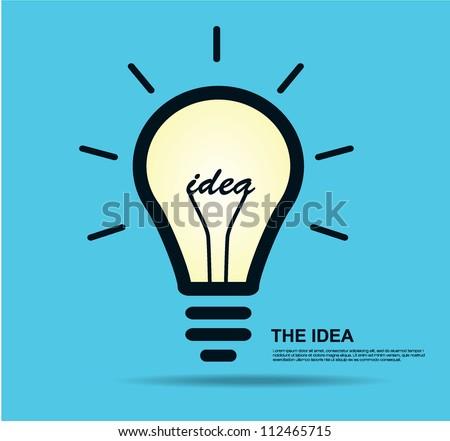 Idea vector illustration - stock vector