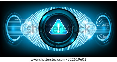 identifying a computer virus. Anti virus protection and computer security concept. PC. vector one zero. scan. technology digital website. vector - stock vector