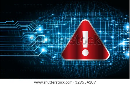 identifying a computer virus. Antivirus protection and computer security concept. PC. one zero.scan. technology digital website web.vector - stock vector