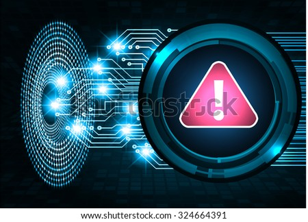 identifying a computer virus. Antivirus protection and computer security concept. PC. vector one zero. scan. technology digital website internet web. - stock vector