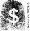 Identity & Money concept - stock vector