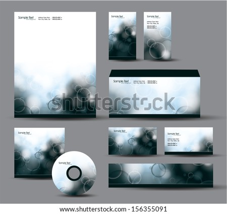 Identity Package.  - stock vector