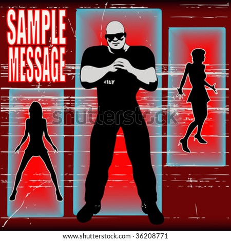 If Your Not On The List - stock vector