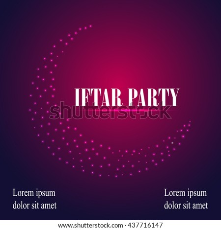 Iftar party invitation card design festive stock photo photo iftar party invitation card design festive ramadan greetings ramadan kareem background vector background stopboris Image collections