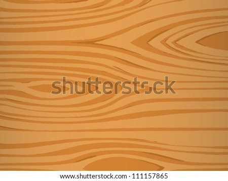 Illustrated texture of wood grain - stock vector